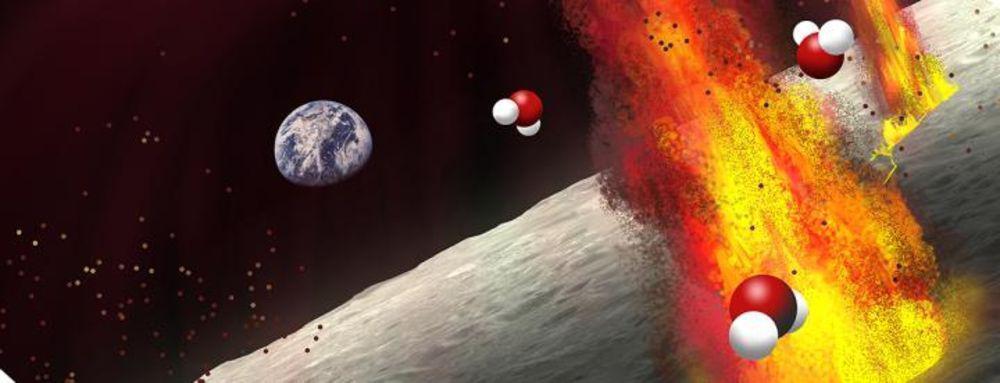 water volcano moon