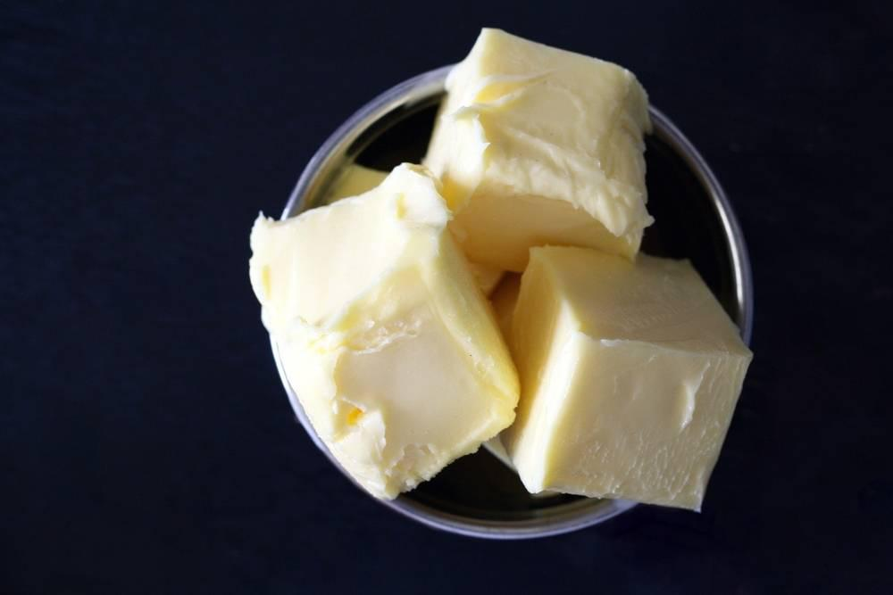 butter in a cup