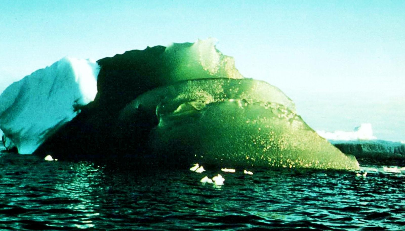 green iceberg