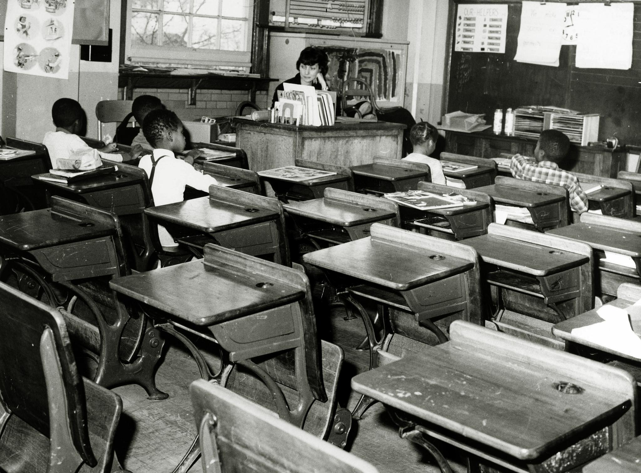 Integration of schools has been a battle for almost 60 years. White students in Queens, New York boycotted their school after it was forced to participate in an integration plan in 1964.