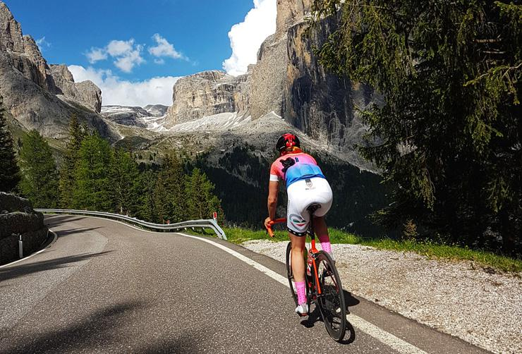 Beyond the Physical, Cycling Produces Many Surprising Mental Health Benefits as Well, by Lena Hemsworth. Photograph of cyclist by Marie Westphal