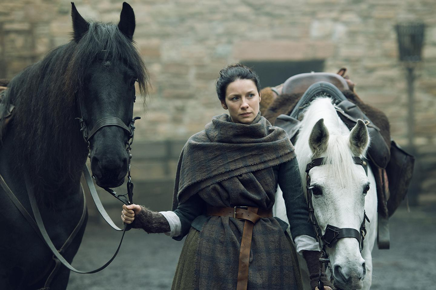 Caitriona Balfe as Claire Randall; Outlander Season 2 2016