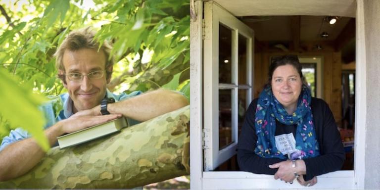 Robert Macfarlane, Jackie Morris, and Nicola Davies in Conversation