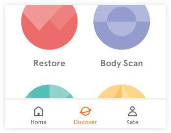Headspace body scan