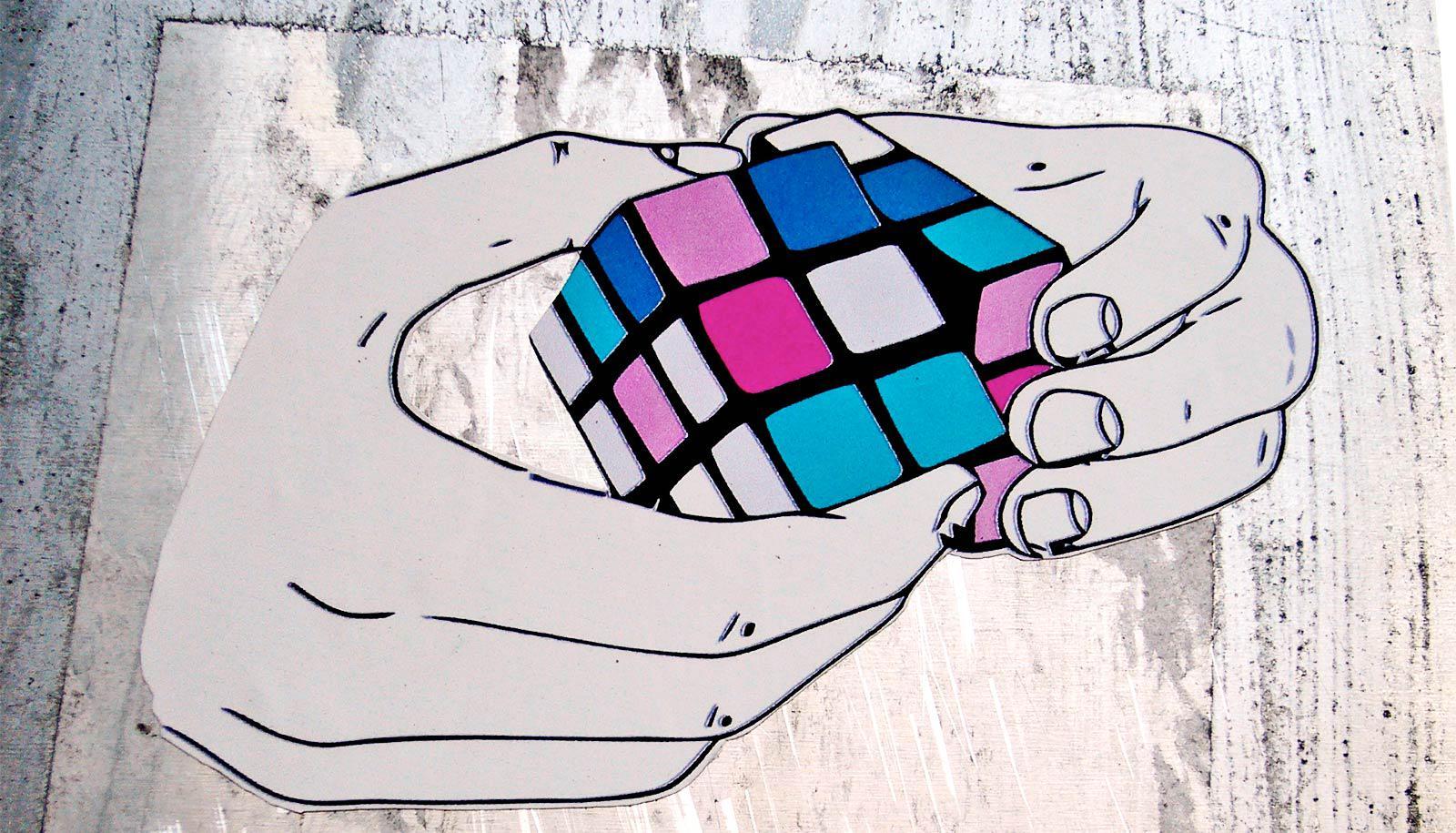 rubik's cube (morpheus chip concept)