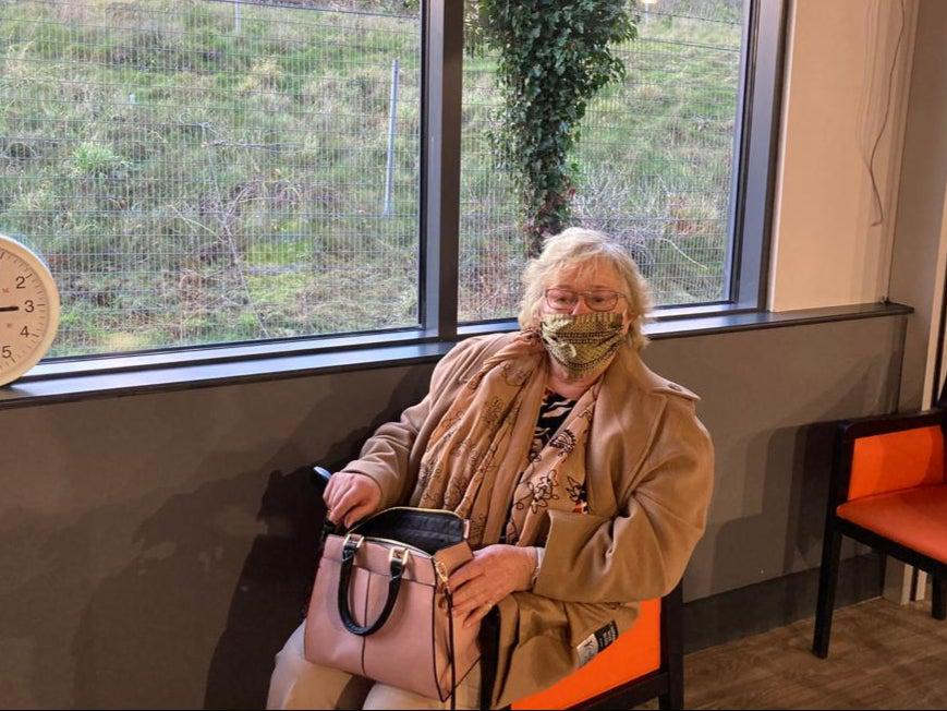 June Pleass, 86, said she couldn't wait for life to get back to normalSamuel Lovett