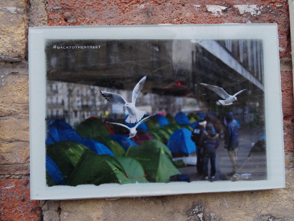 Réfugiés Paris