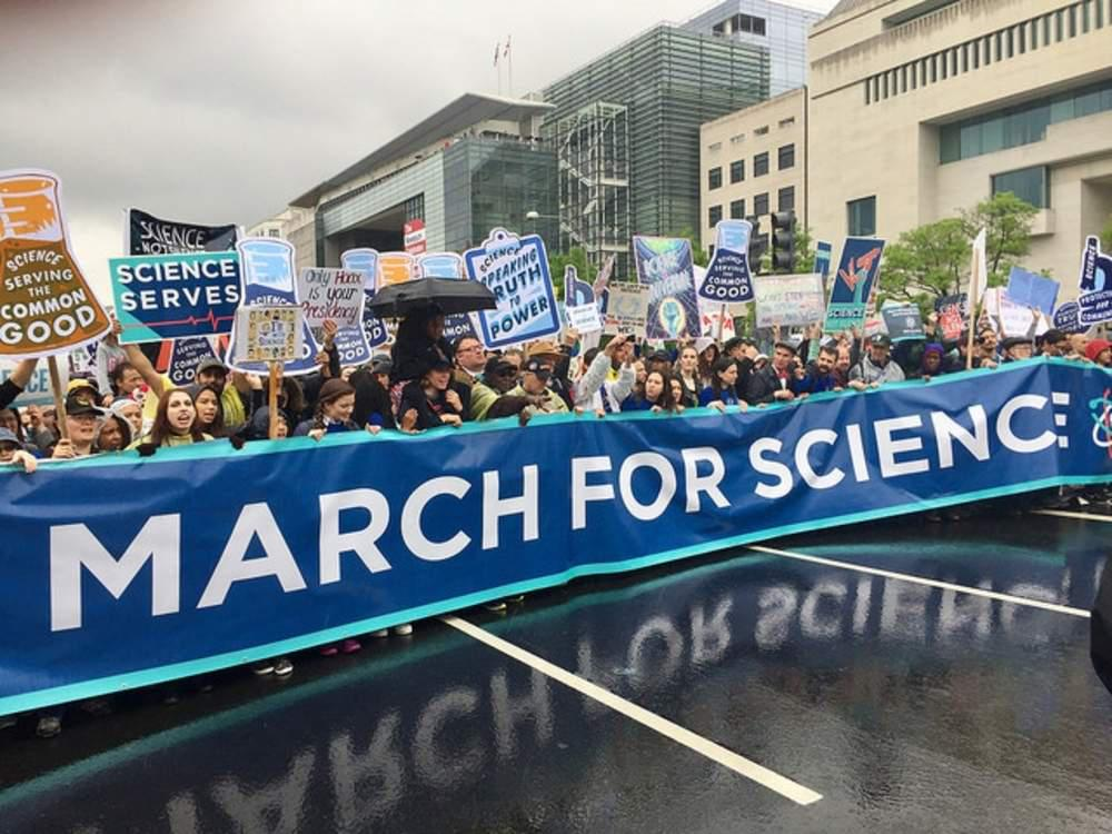 March for Science in Washington DC.