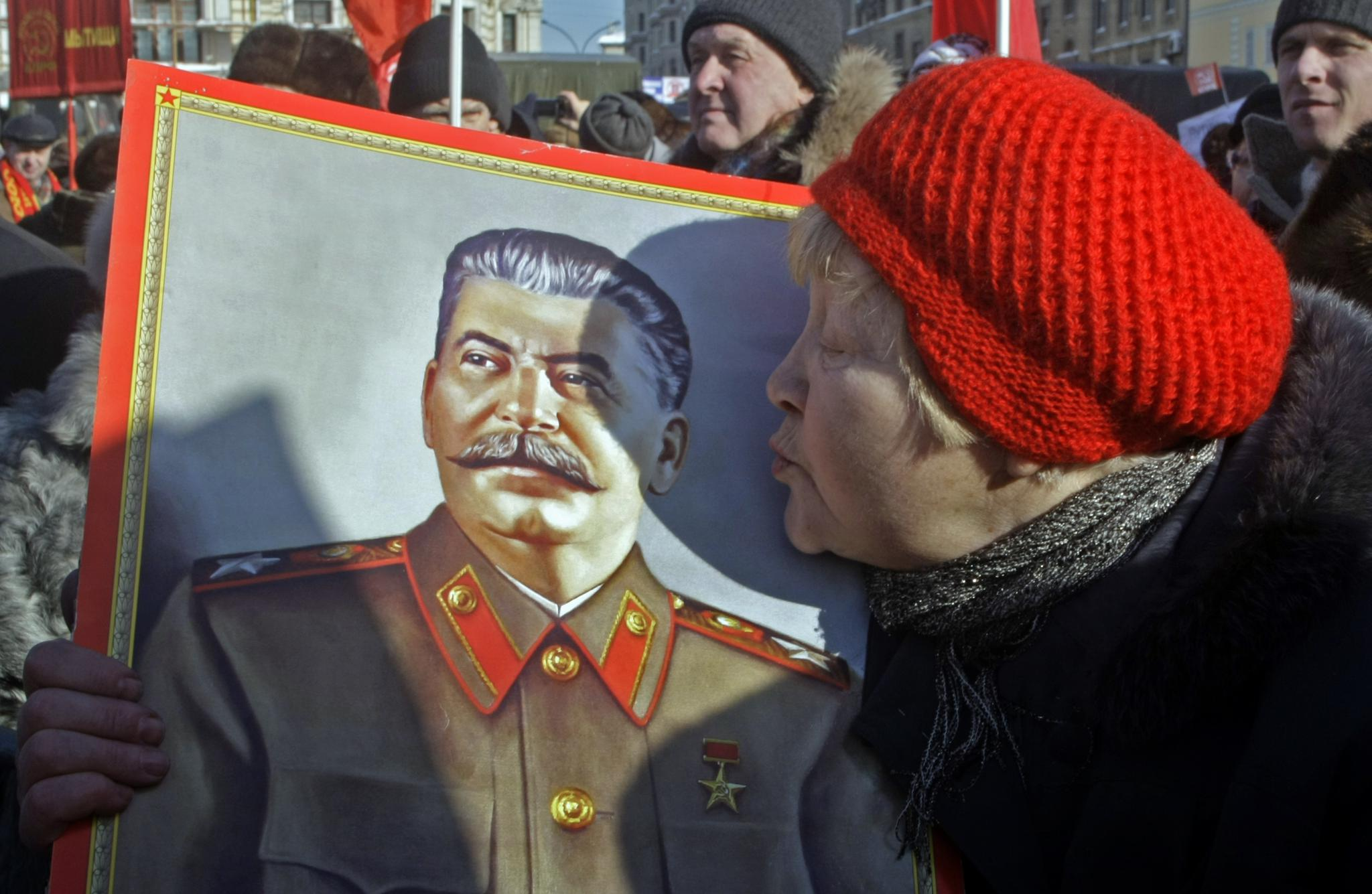 Under Vladimir Putin, Russia has seen a ressurgance in affection for the dictator Josef Stalin who was responsible for the death of millions during World War II.