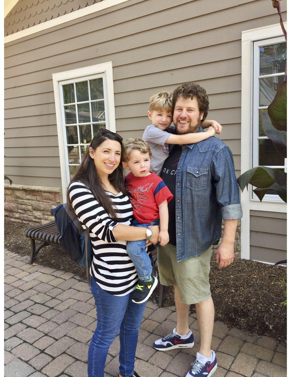 Jenny Wikoff and family