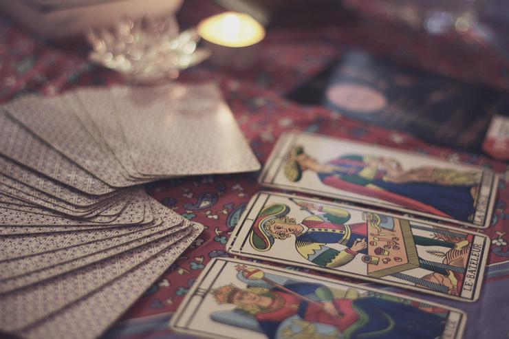 Tarot Cards, photograph by Rirriz