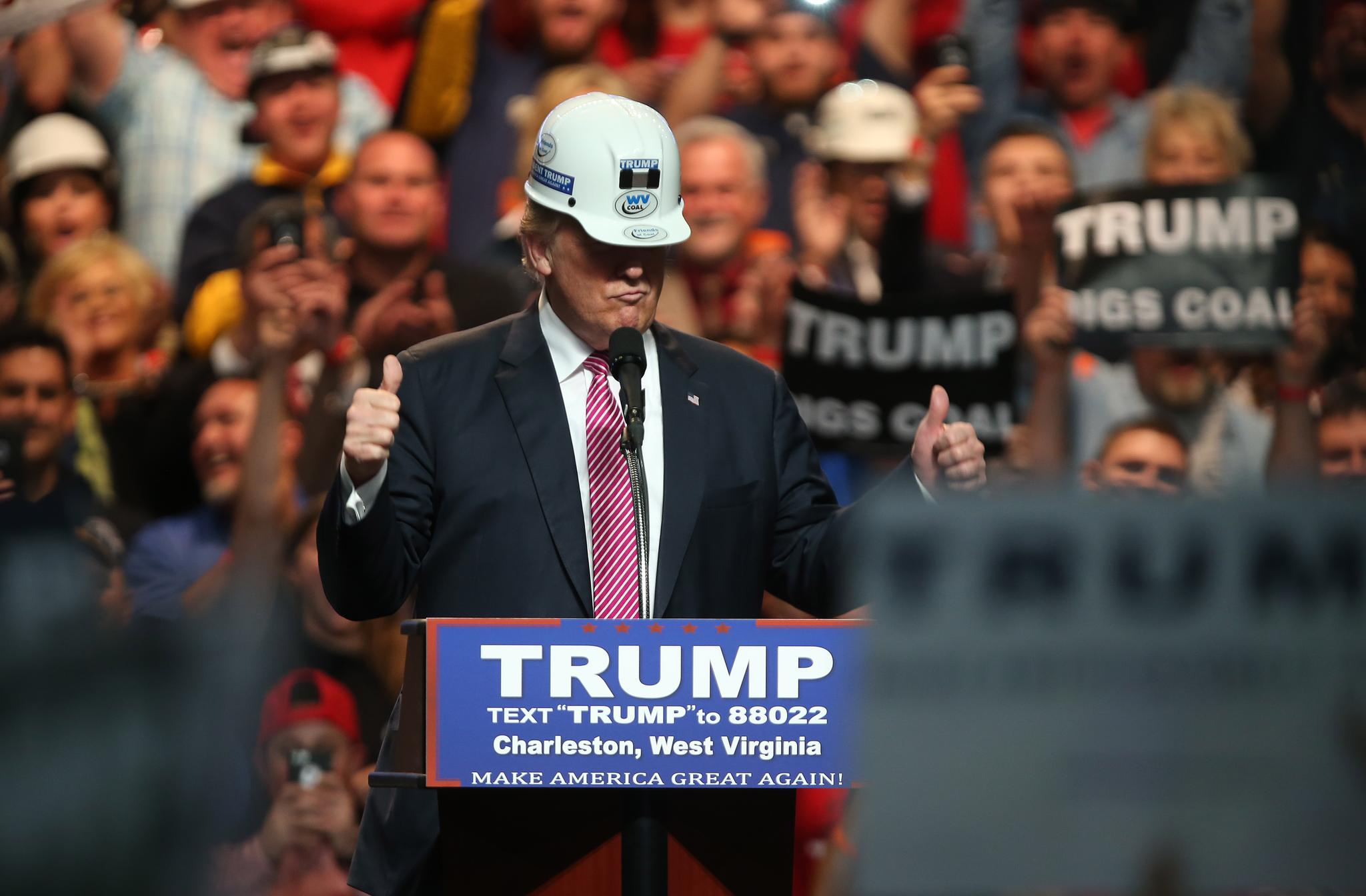 President Donald Trump Campaigned To End The War On Coal While Running For