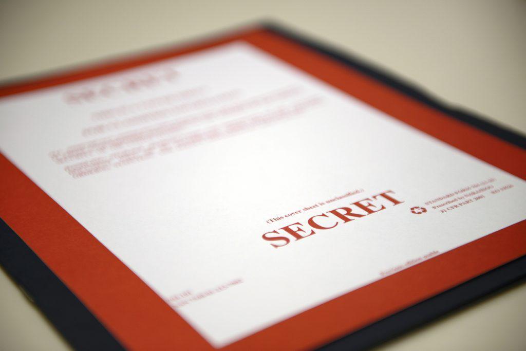 Secret documents folder