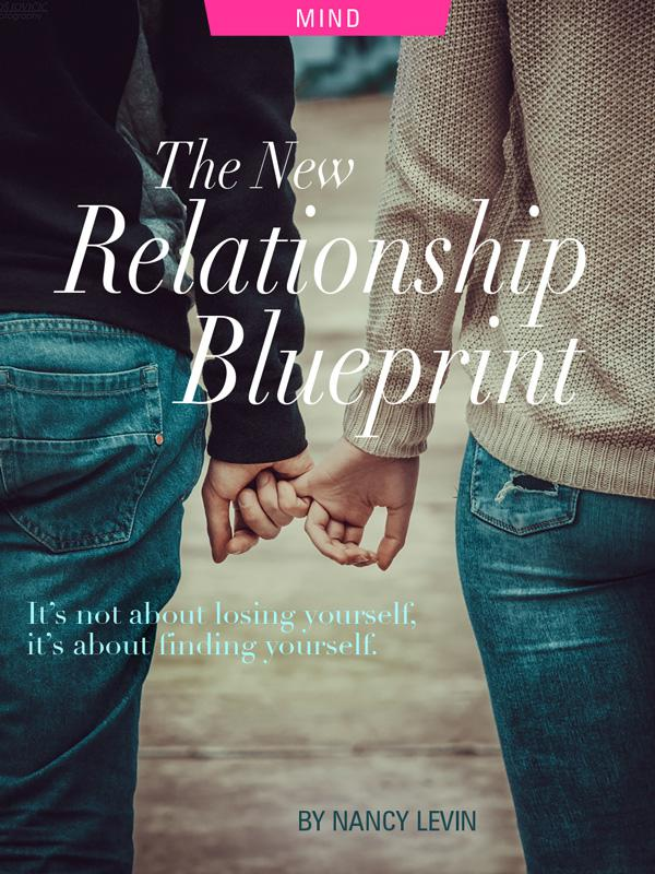 the New Relatiohsip Blueprint by Nancy Levin, couple holding hands photograph by Uros Jovicic