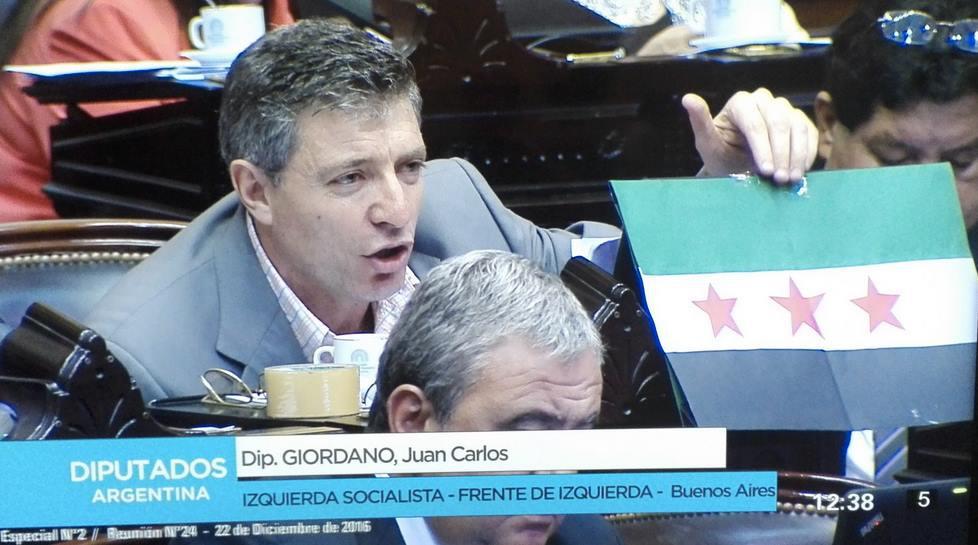 Juan Carlos Giordano at the X.