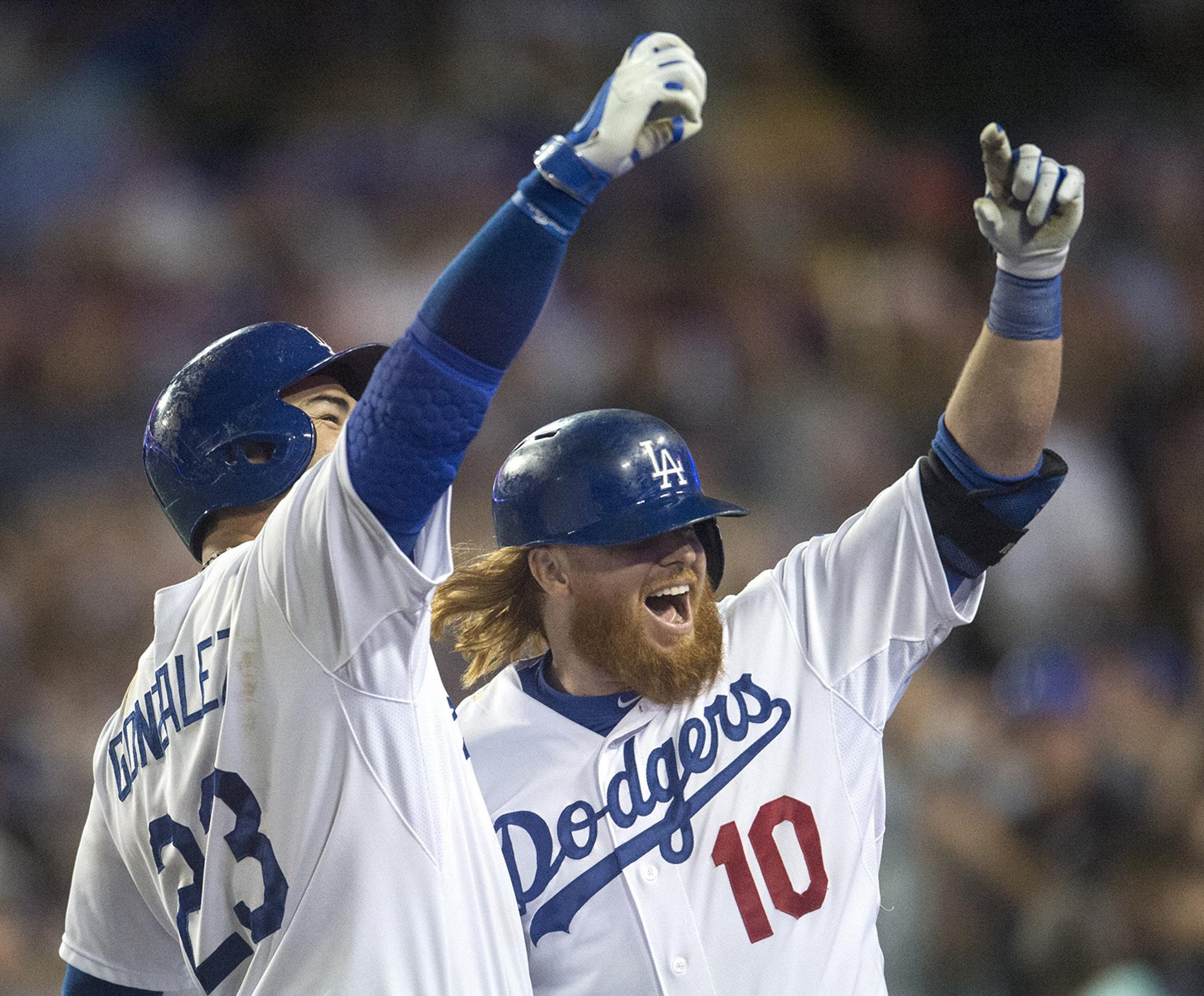 san francisco 7fb1c ac253 Justin Turner Looks To End Dodgers' World Series Drought ...