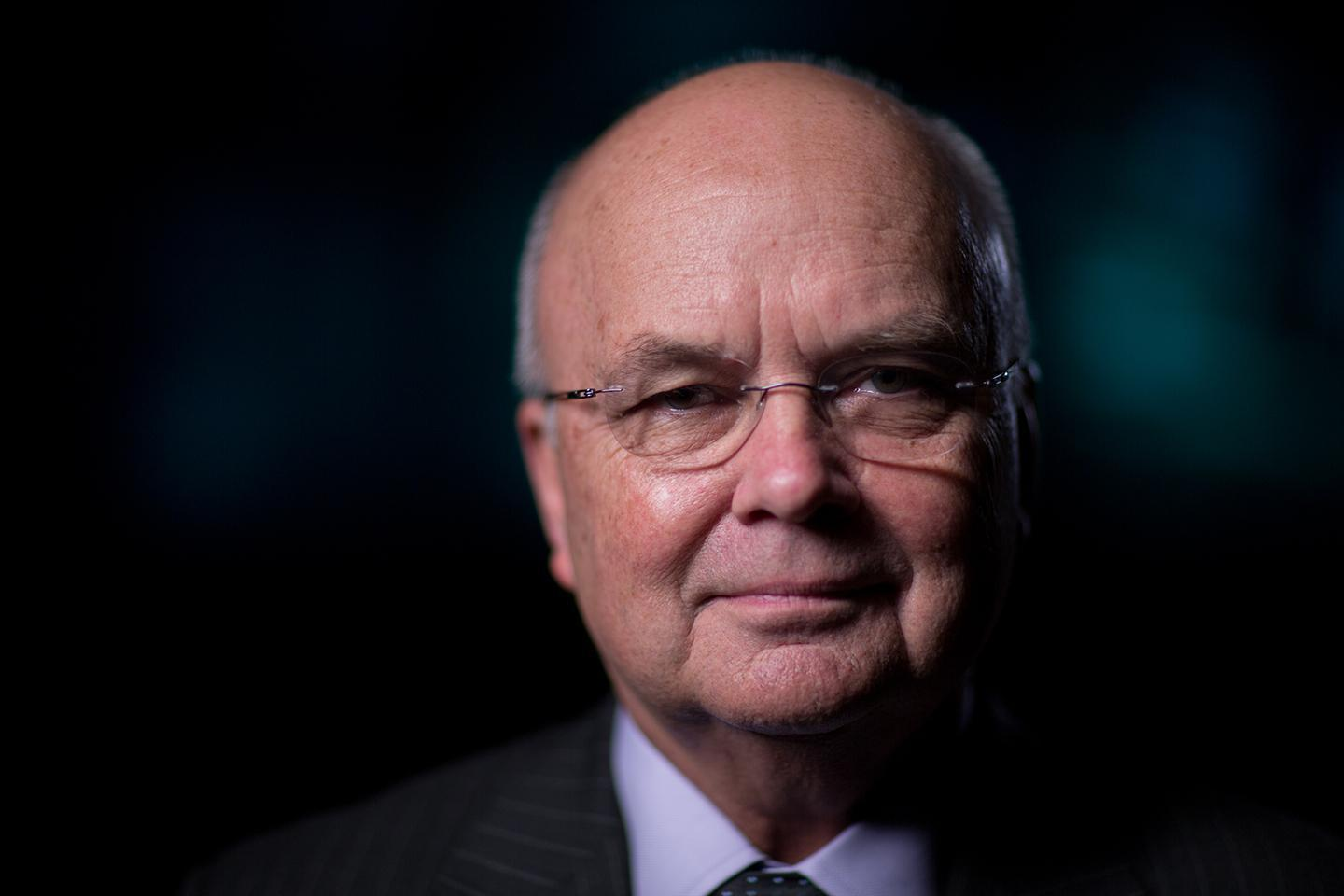 "Former Central Intelligence Agency Director Gen. Michael Hayden, who served under Presidents George W. Bush and Barack Obama, is interviewed for the documentary, ""The Spymasters,"" about CIA Directors for CBS/Showtime."
