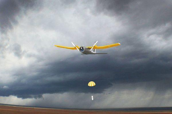 storm drone