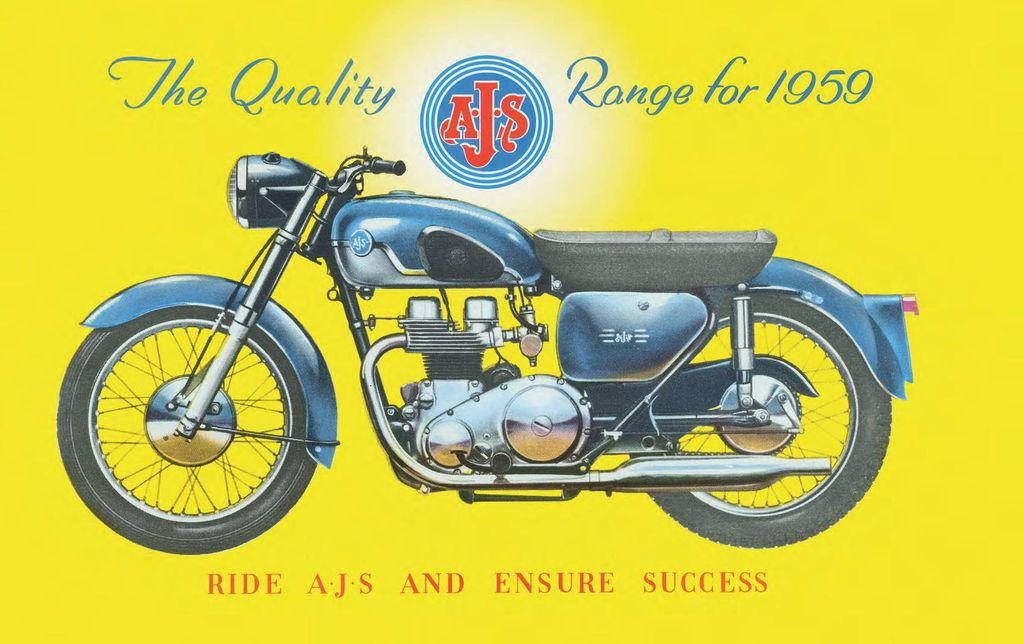 Associated Motorcycles Limited AMC History AJS New Book