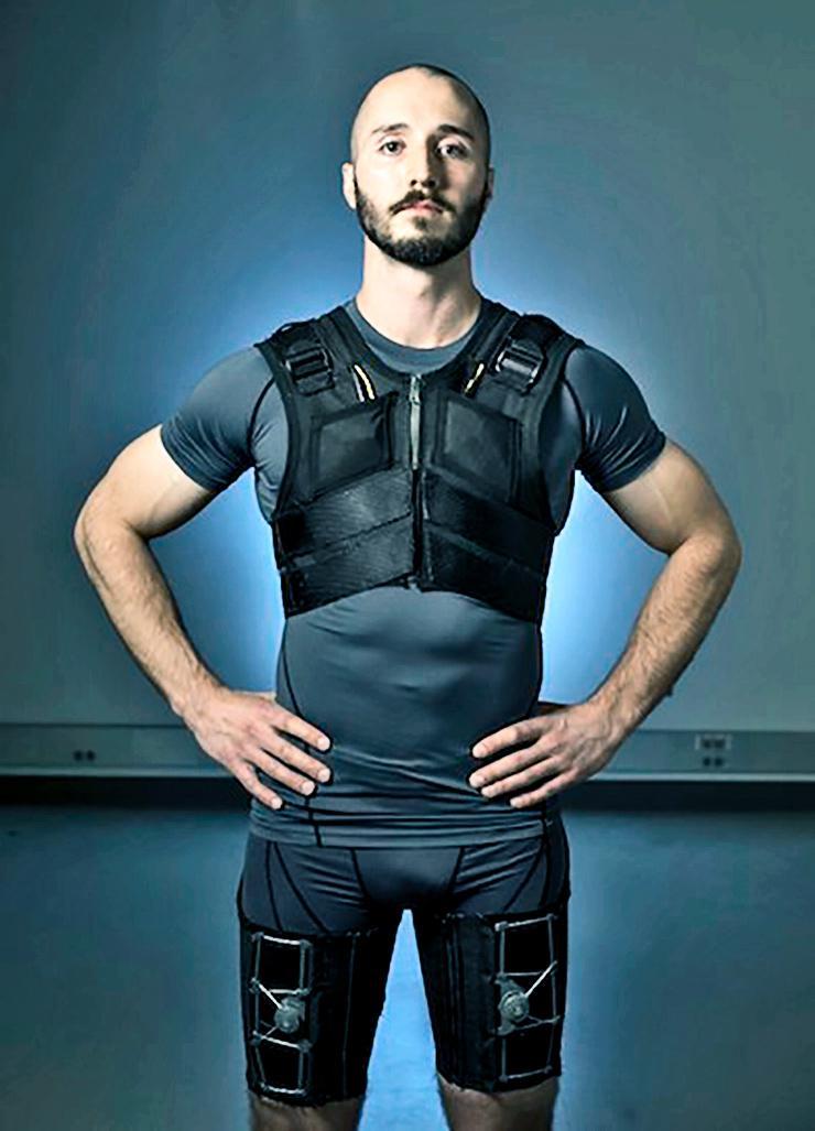 back pain super suit
