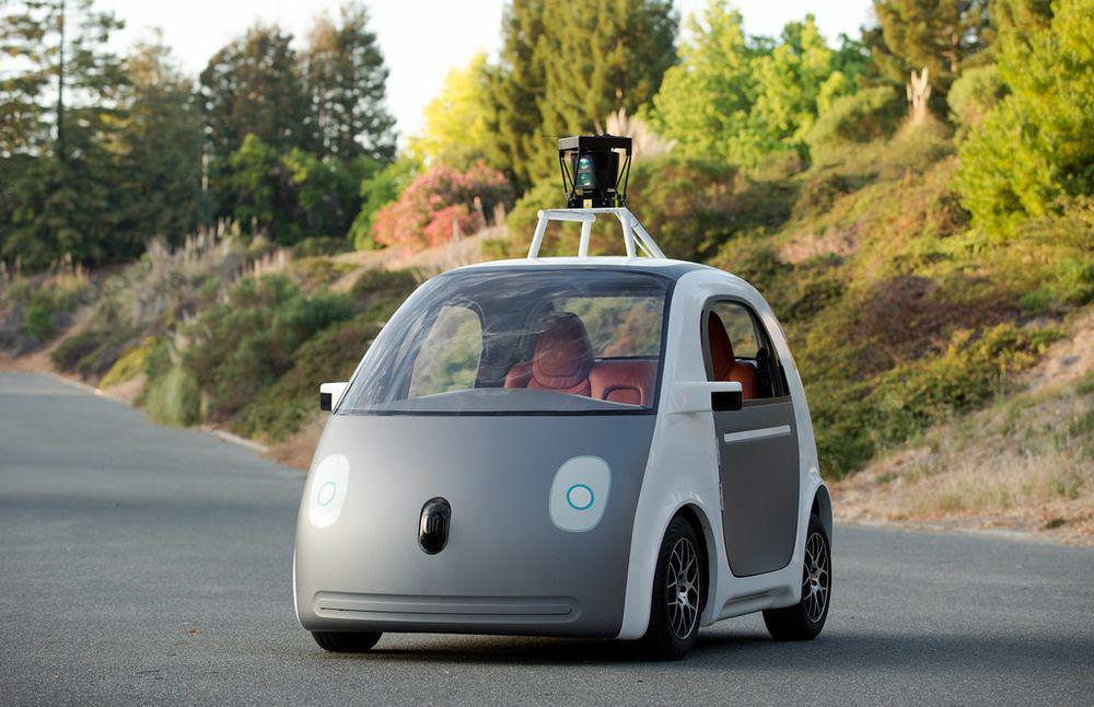 A Google self-driving car