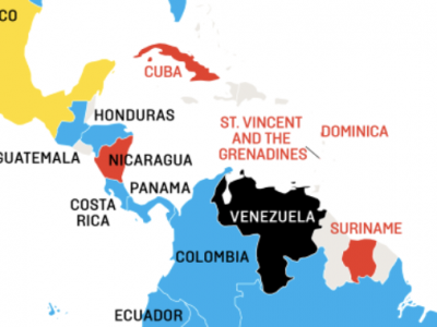 """Foreign Policy\'s Venezuela """"Global Scorecard"""" Map Wrongly ..."""