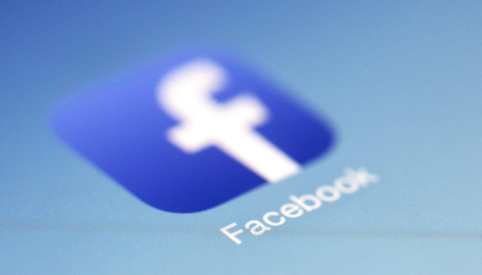 blur on Facebook logo -- facebook posts