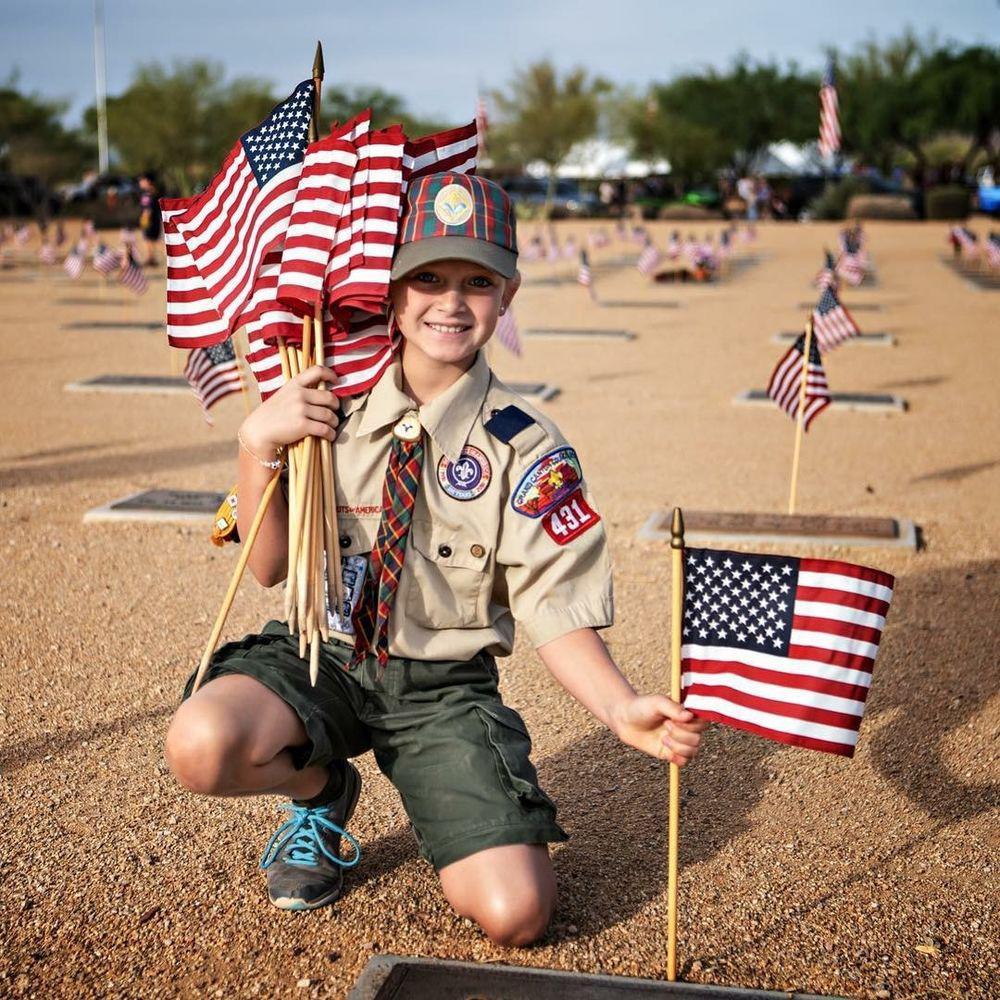 girl cub scout