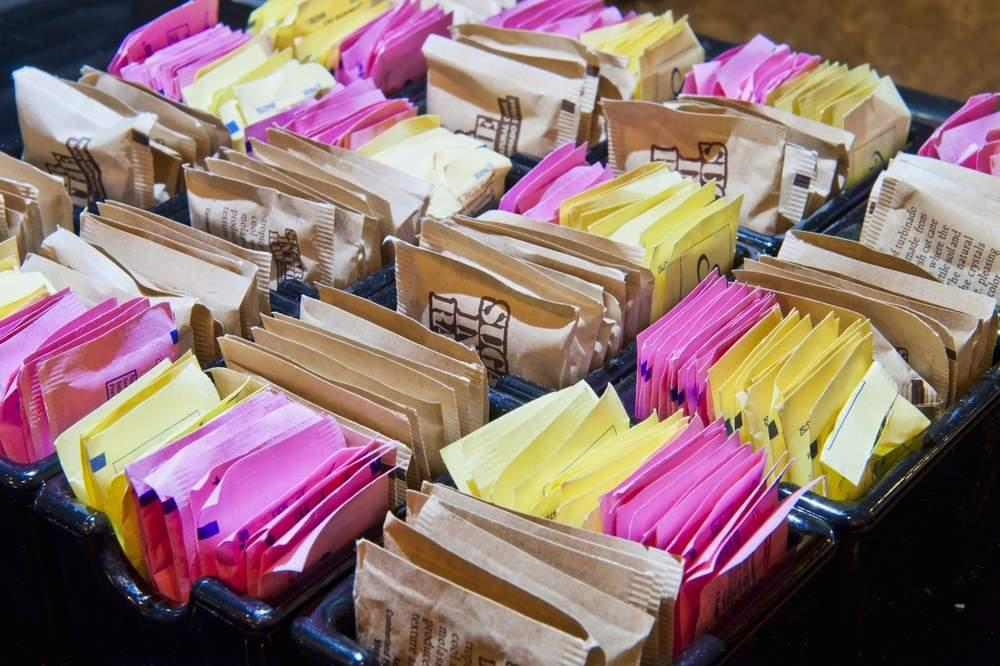 artificial sweetener sugar packets