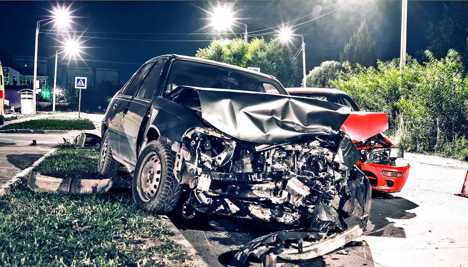 car crash two cars