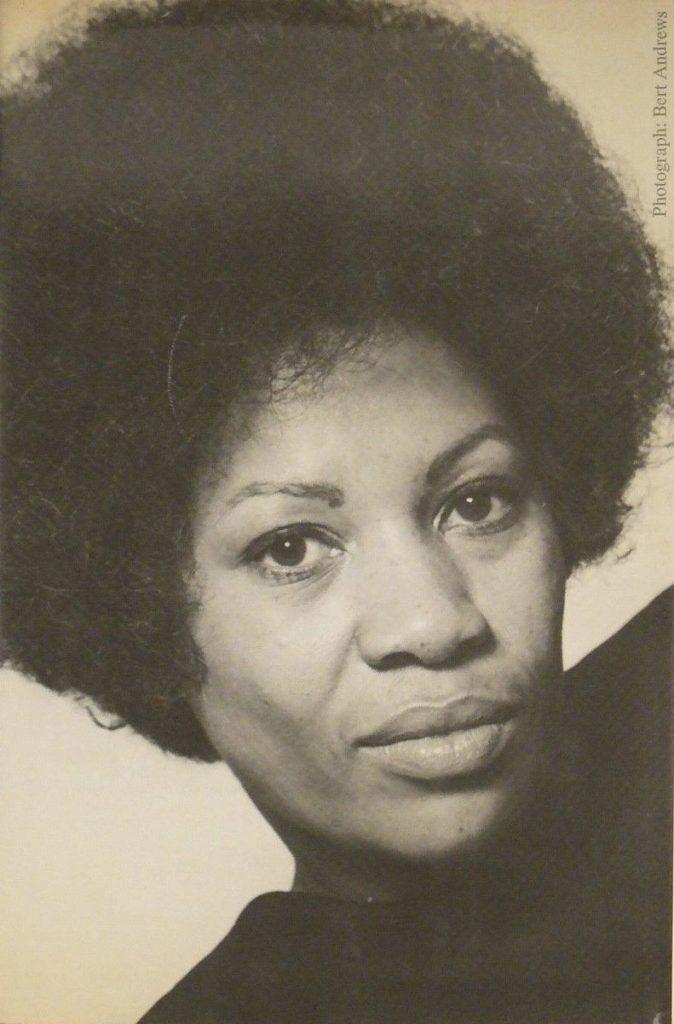 Toni Morrison first author photo