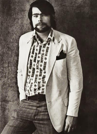 Stephen King first author photo