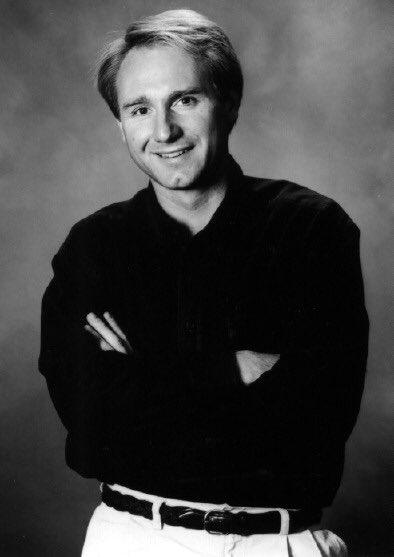 Dan Brown first author photo
