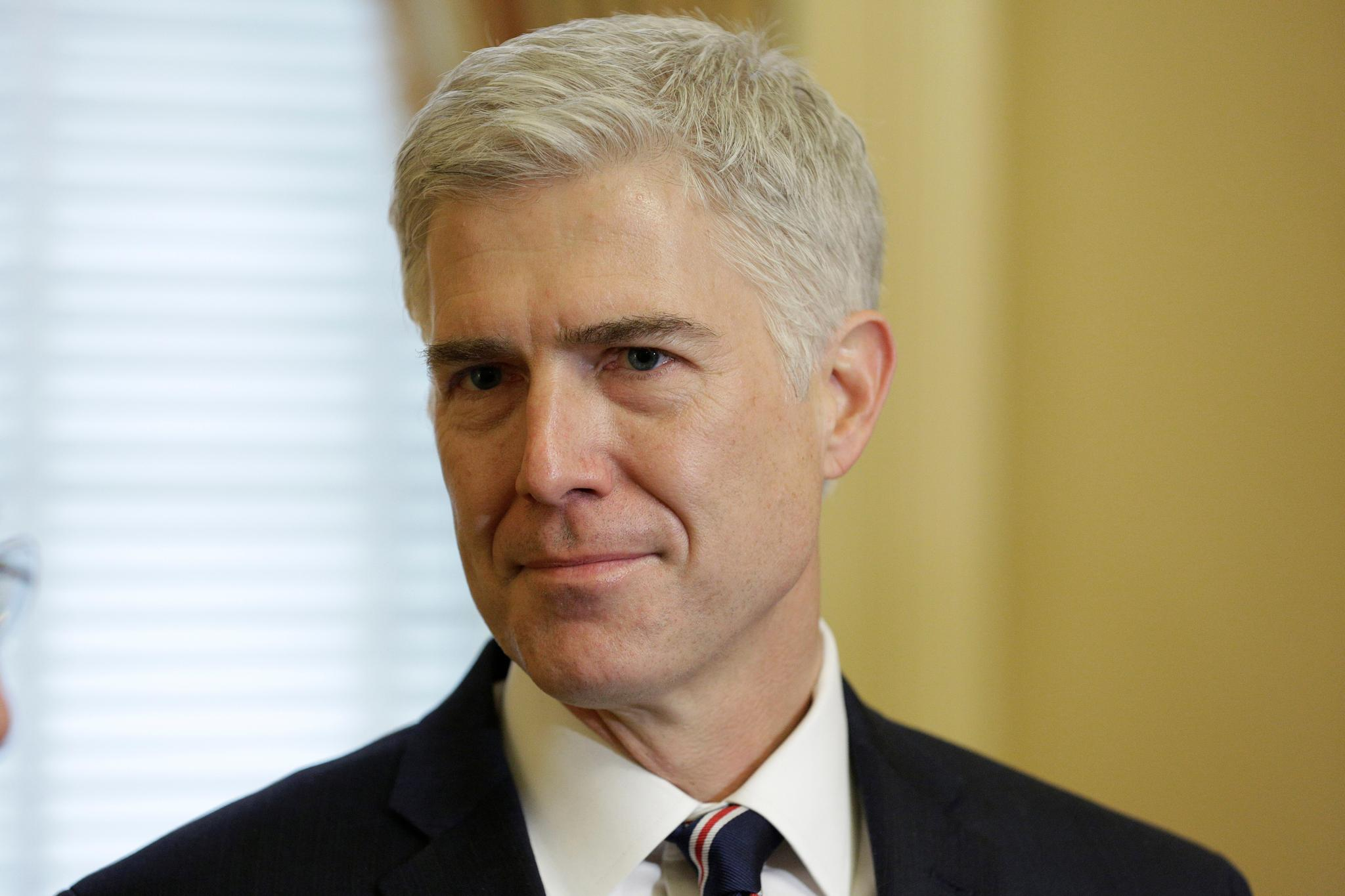 Donald Trump announced his nomination of Neil Gorsuch to the U.S. Supreme Court on January 31.