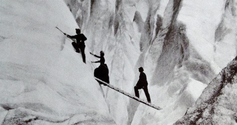 Victorian woman mountaineer