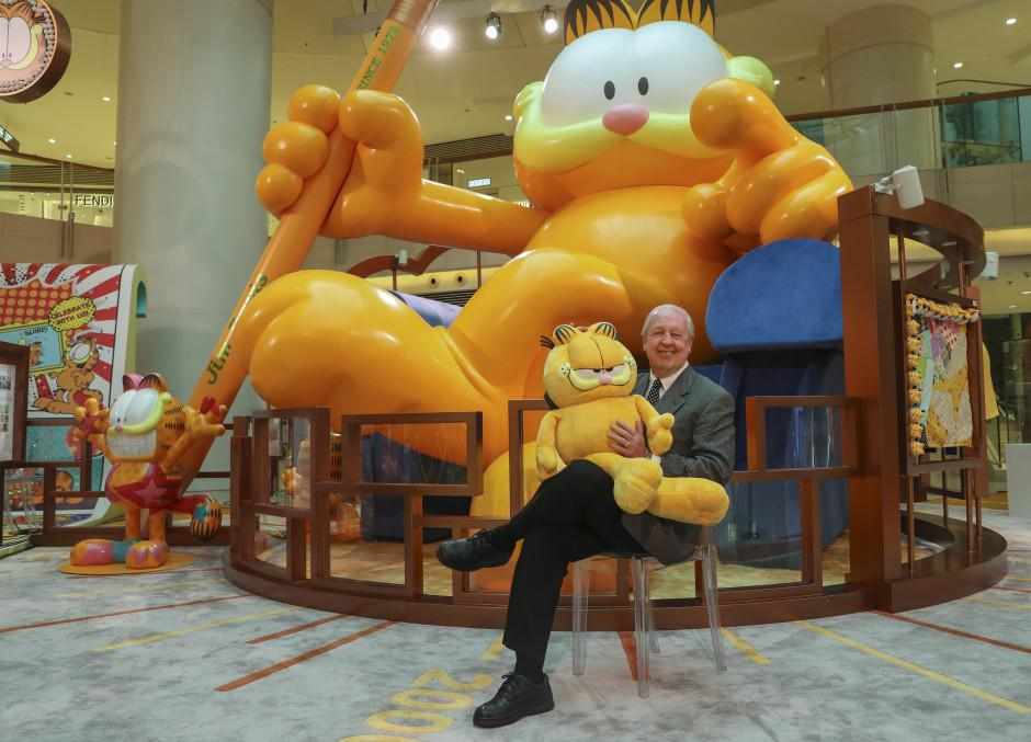 Read Garfield The Cartoon Cat Turns 40 How His Creator Brings The