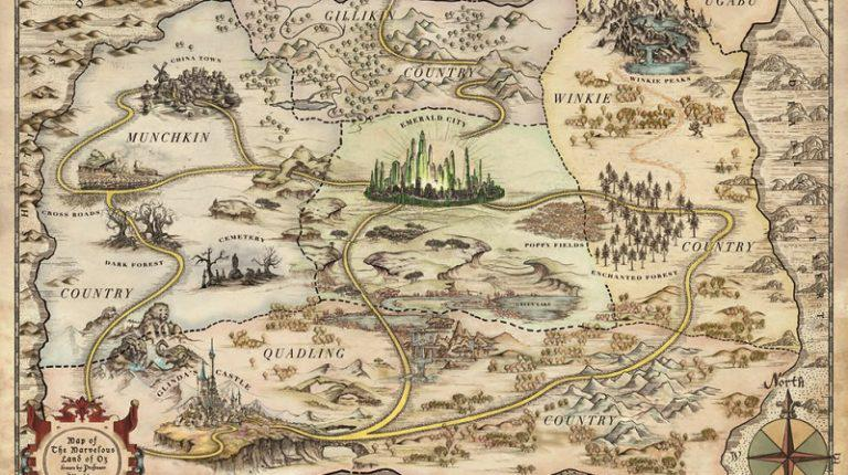 Lea Why We Feel So Compelled To Make Maps Of Fictional Worlds En Linea