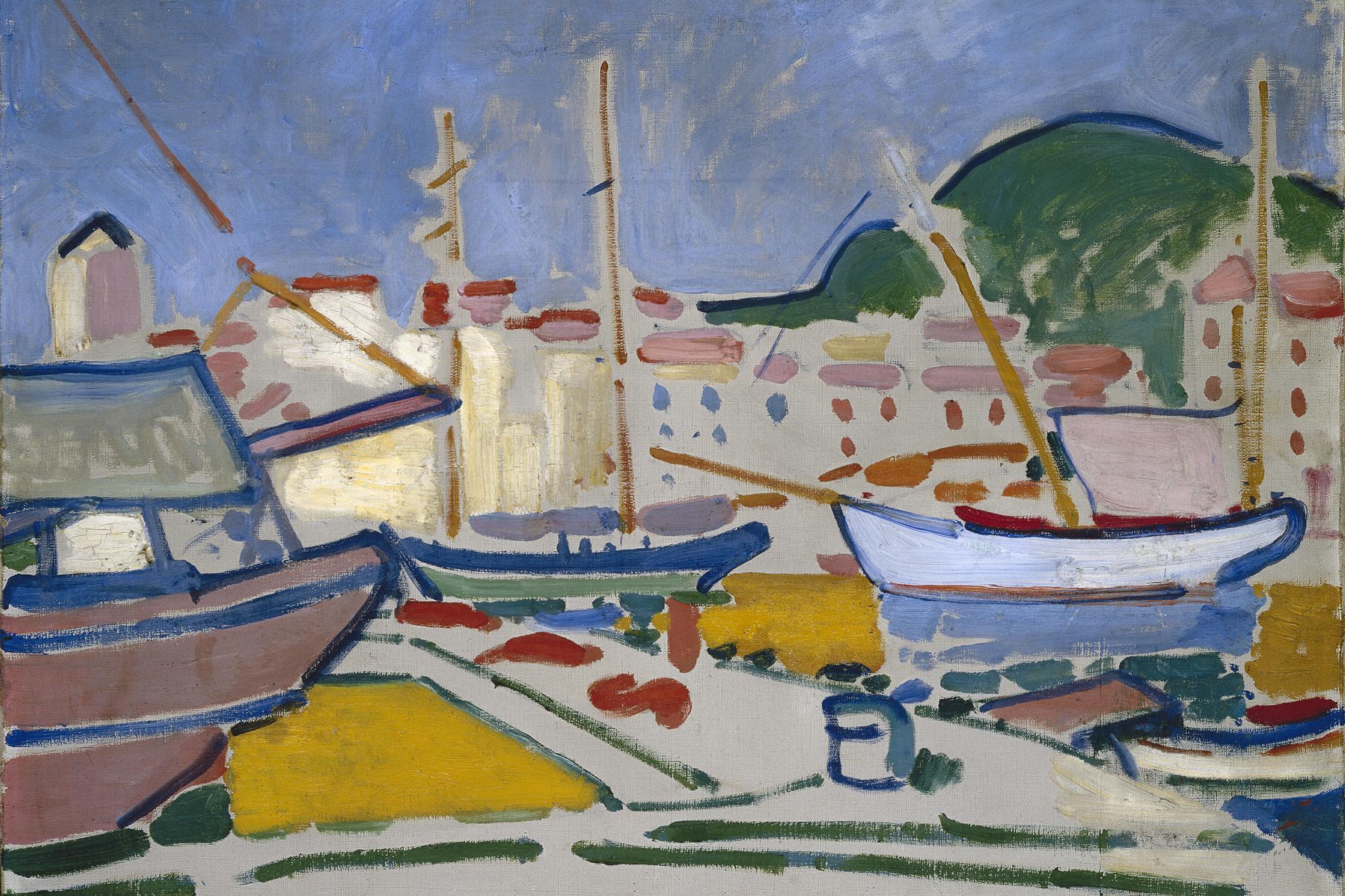 André Derain's 1905 painting Le Port (Port Vendres).