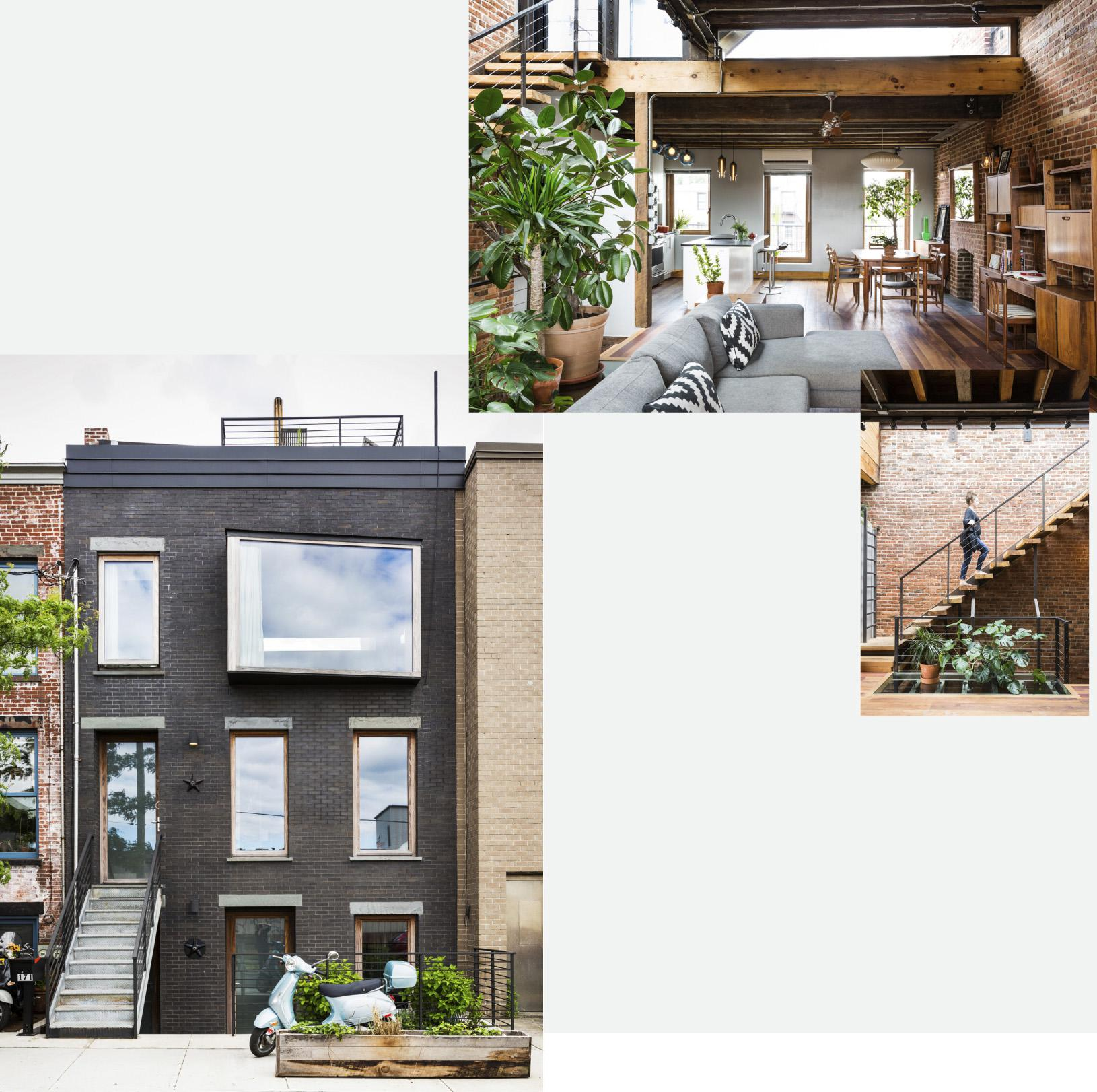 Architect Allison Reeves was renovating a townhome in Red Hook when she  discovered that the existing redbrick facade was falling apart.