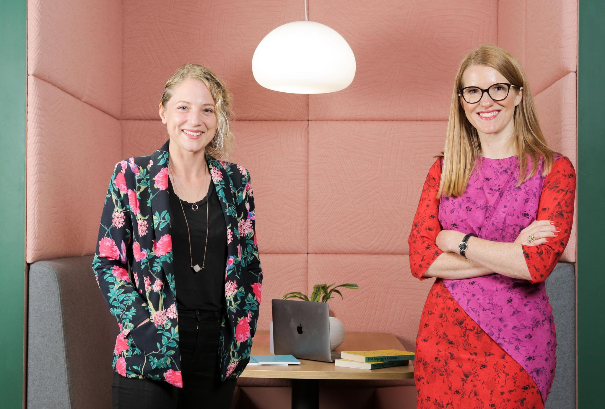 HelenTupperandher Squiggly Career co-author and co-host Sarah Ellis (MattWrittle)Matt Writtle