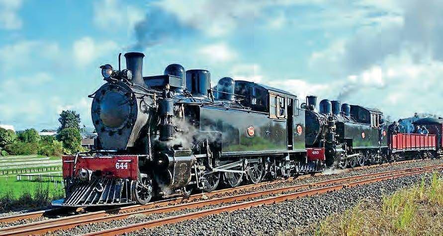 British-built Steam Giant Returns While Veterans Make Last