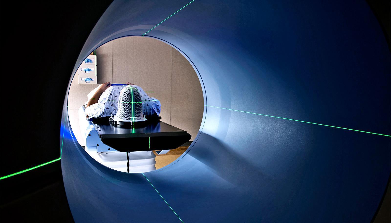 PET scan patient (PET scans concept)