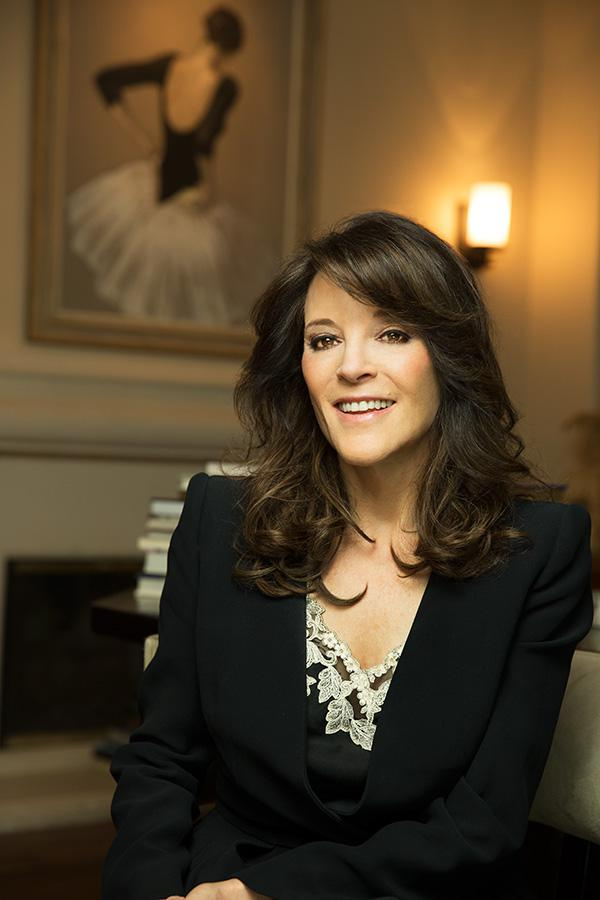 Marianne Williamson, interview by Kristen Noel, Photograph by Bill Miles