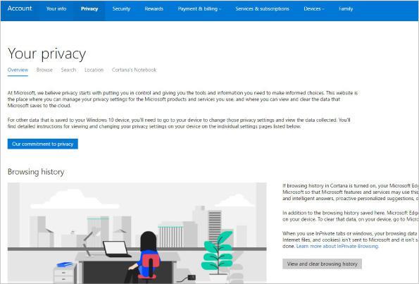 make windows 10 privacy