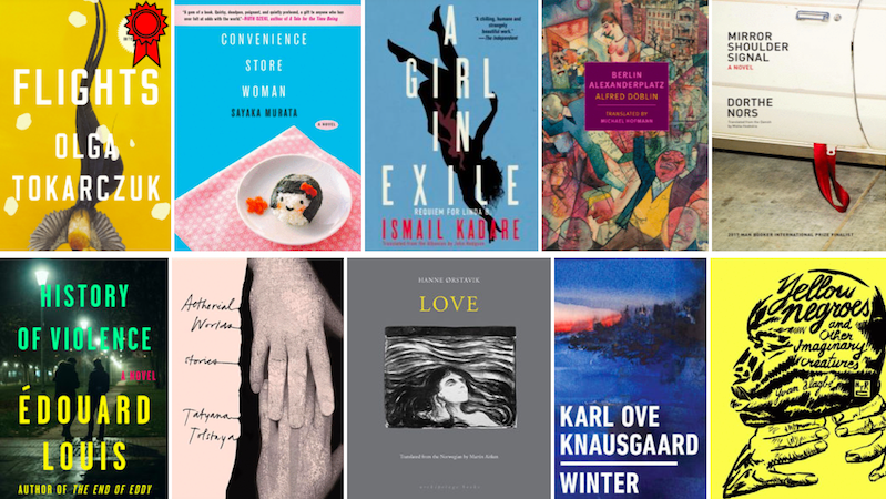 translation, Flights, Convenience Store Woman, Karl Ove Knausgaard, Dorthe Nors