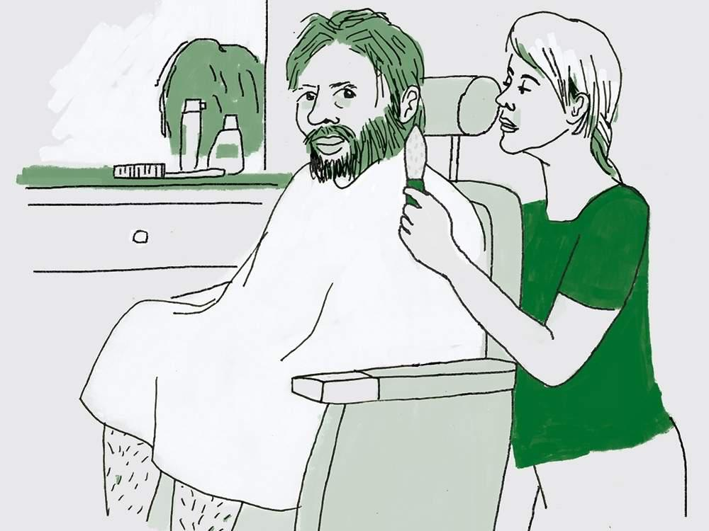 shaving a neanderthal