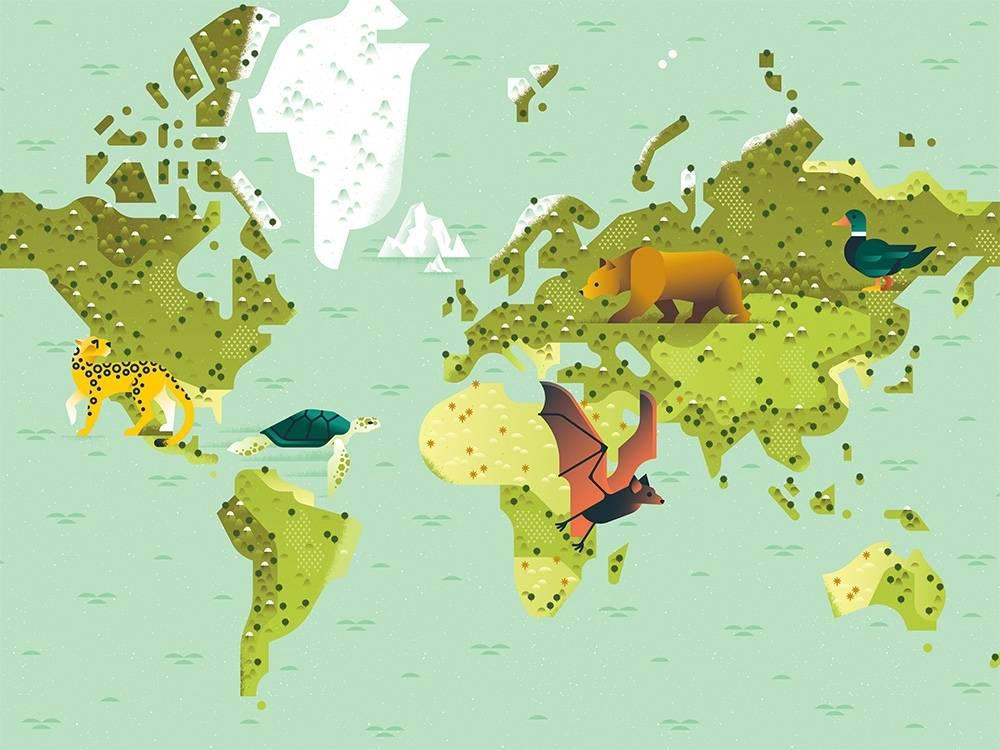 wildlife tracker map