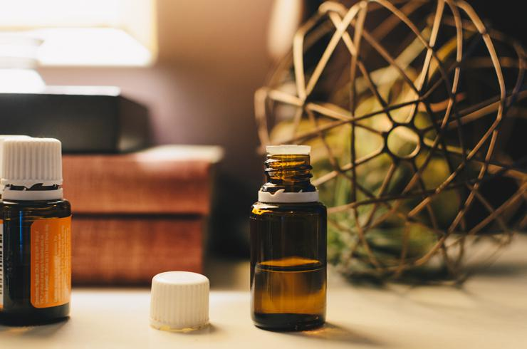 Photograph of essential oil by Kelly Sikkema