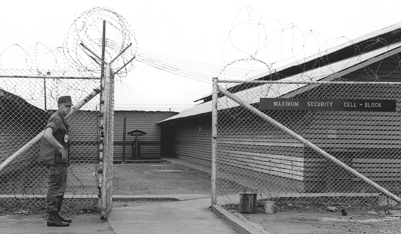Long Binh jail in Vietnam. Picture: US National Archives
