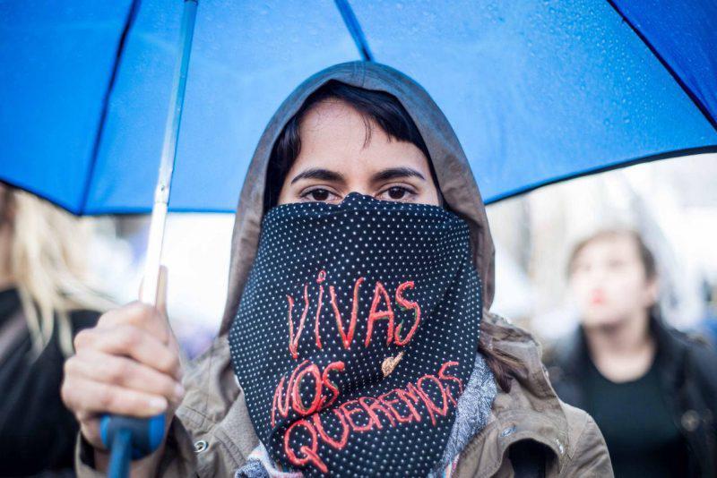 #NosotrasParamos. Cobertura colaborativa. Fotografía de Emergente. Usada con permiso.